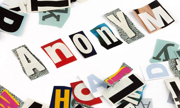 Anonyma brevskrivare
